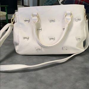 Off white betsey Johnson bag